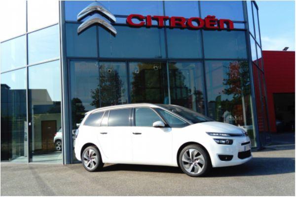 Citroën GRAND C4 PICASSO 2.0 BLUEHDI 150 EAT6 EXCLUSIVE - Voitures d'occasions à Brunstatt