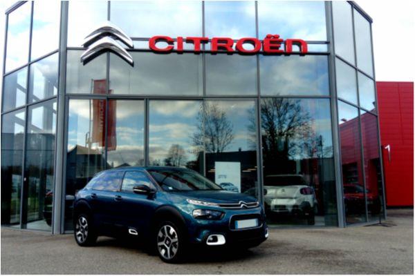 Citroën C4 CACTUS 1.2 PURETECH 130 SHINE - Voitures d'occasions à Brunstatt