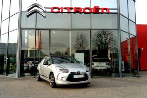 Citroën DS3 1.2 PURETECH 110 SO CHIC - Voitures d'occasions à Brunstatt