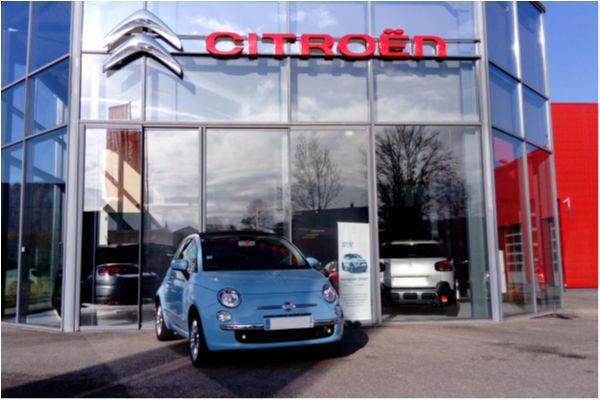 FIAT 500 CABRIOLET 1.2 69 LOUNGE - Voitures d'occasions à Brunstatt