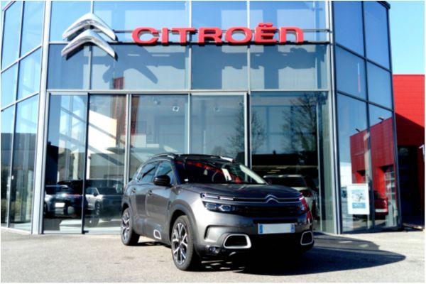 Citroën C5 AIRCROSS 2.0 BLUEHDI 180 EAT8 SHINE - Voitures d'occasions à Brunstatt