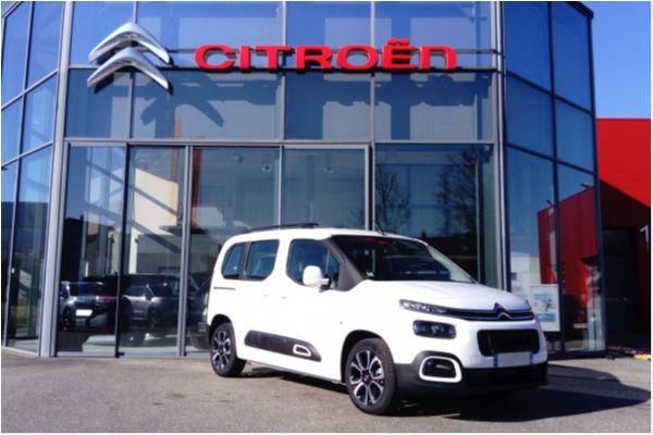 Citroën BERLINGO 1.5 BLUEHDI 130 FEEL - Voitures d'occasions à Brunstatt