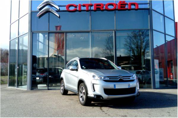 Citroën C4 AIRCROSS HDI 150 EXCLUSIVE 4X4 - Voitures d'occasions à Brunstatt