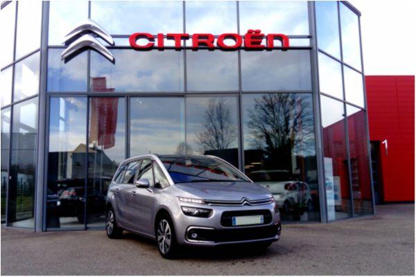 Citroën GRAND C4 PICASSO 2.0 BLUEHDI 150 EAT6 SHINE - Voitures d'occasions à Brunstatt