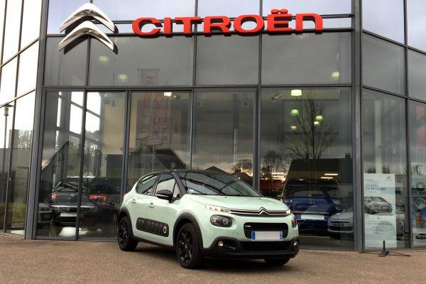 Citroën NOUVELLE C3 1.2 PURETECH 82 SHINE - Voitures d'occasions à Brunstatt