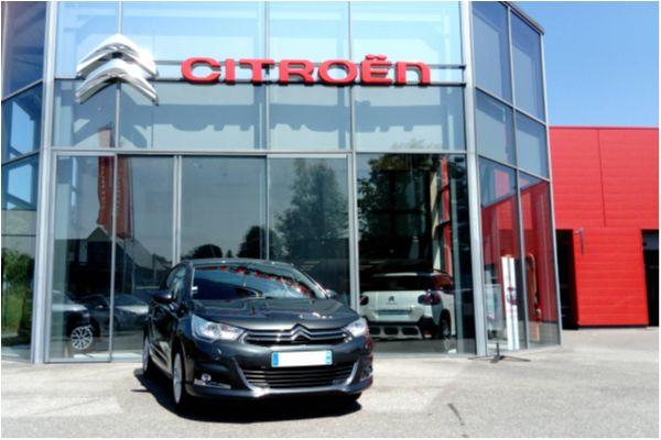 Citroën C4 1.6 E-HDI 115 FAP EXCLUSIVE - Voitures d'occasions à Brunstatt