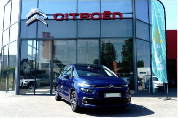 Citroën C4 SPACETOURER 1.5 BLUEHDI 130 SHINE - Voitures d'occasions à Brunstatt