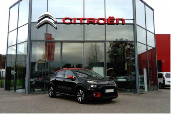 Citroën C3 1.2 PURETECH 82 SHINE - Voitures d'occasions à Brunstatt
