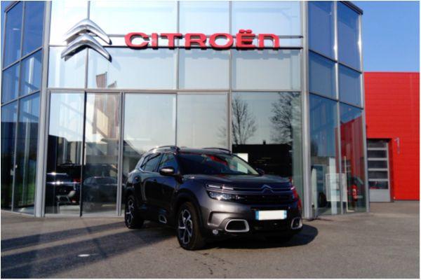 Citroën C5 AIRCROSS BLUEHDI 130 S&S BVM6 SHINE - Voitures d'occasions à Brunstatt