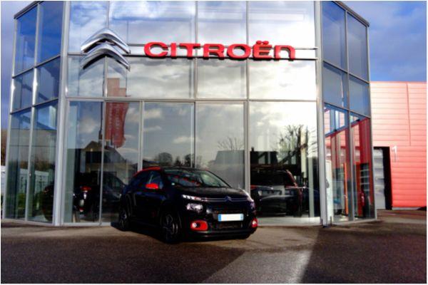 Citroën C3 PURETECH 110 SHINE BVM6 - Voitures d'occasions à Brunstatt