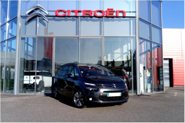 Citroën GRAND C4 PICASSO BLUEHDI 150 EAT6 EXCLUSIVE - Voitures d'occasions à Brunstatt