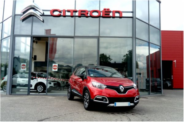 RENAULT CAPTUR DCI 110 ENERGY INTENS - Voitures d'occasions à Brunstatt