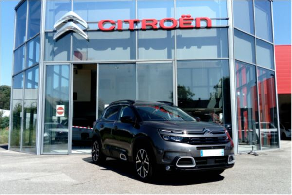 Citroën C5 AIRCROSS BLUEHDI 180 EAT8 SHINE - Voitures d'occasions à Brunstatt