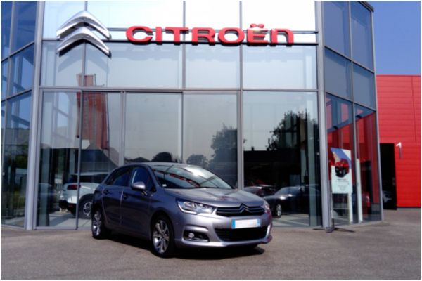 Citroën C4 BLUEHDI 120 EAT6 SHINE - Voitures d'occasions à Brunstatt