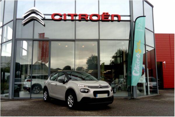 Citroën C3 PURETECH 82 FEEL - Voitures d'occasions à Brunstatt