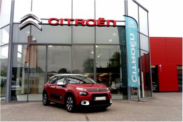 Citroën C3 1.2 PURETECH 82CH SHINE - Voitures d'occasions à Brunstatt