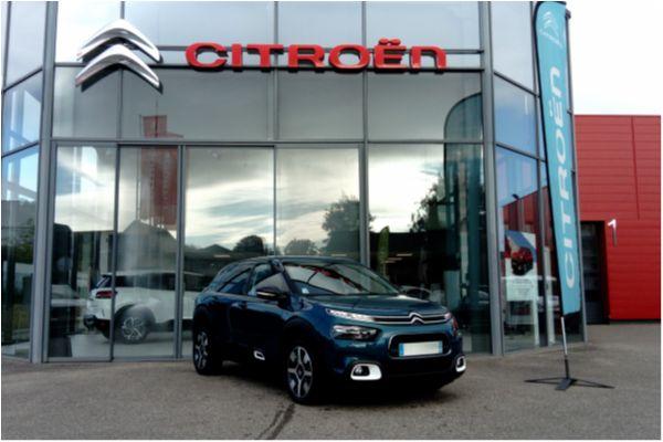 Citroën C4 CACTUS PURETECH 130 SHINE - Voitures d'occasions à Brunstatt