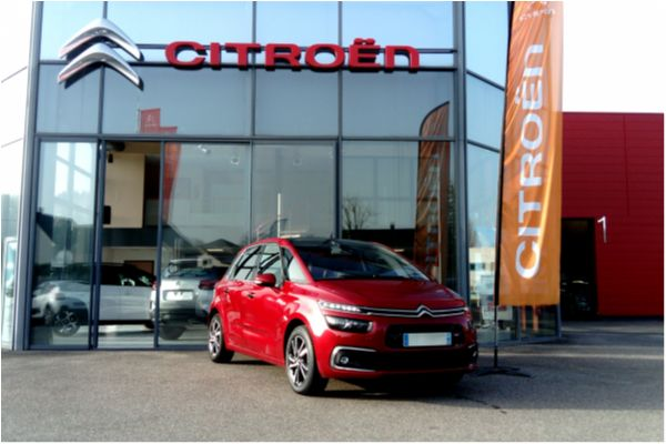 Citroën C4 Picasso BLUEHDI 120CH EAT6 SHINE - Voitures d'occasions à Brunstatt