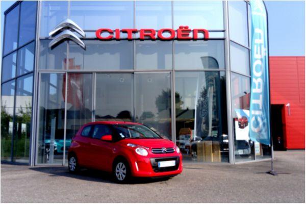 Citroën C1 VTI 68 FEEL ETG - Voitures d'occasions à Brunstatt