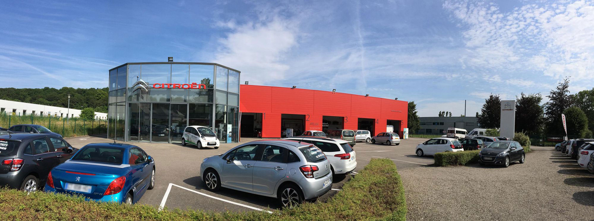 Point de vente Citroën et DS Automobiles à Brunstatt