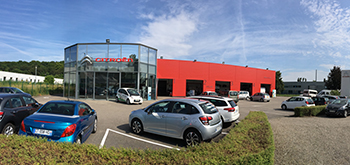 Garage Geitner - Point de vente Citroën à Brunstatt